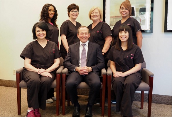 The staff of Dr. Hilton Israelson